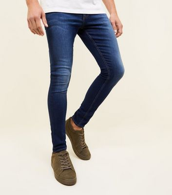 Indigo Super Skinny Stretch Jeans
