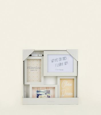 Grey Lightbox Photoframe