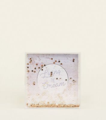 Lilac Ombre Square Shake It Frame