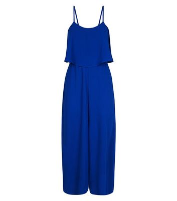 0b67c043ef bright-blue-layered-wide-leg-jumpsuit by new-look