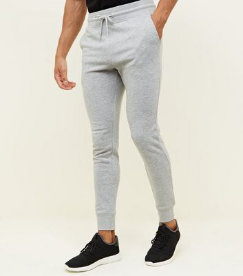 Jogging skinny gris chiné