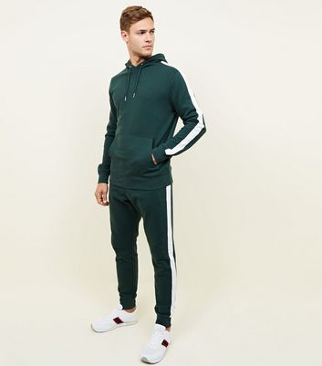 Green Side Stripe Joggers
