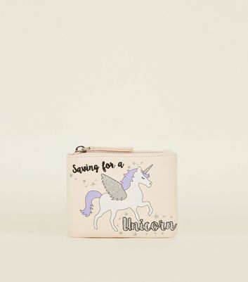 Cream Saving For A Unicorn Slogan Purse