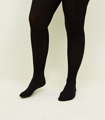 Curves Black 100 Denier Tights