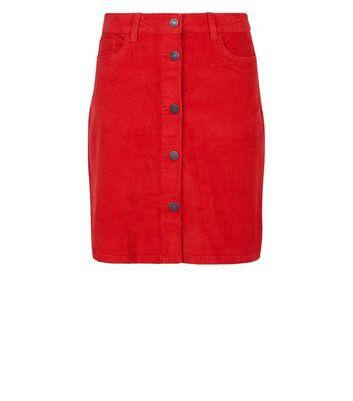 CORDROCK skirt The bordeaux-coloured fine cord ZWEIWERK