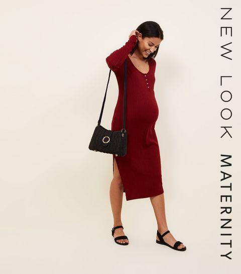 Womens Maternity Dresses Pregnancy Dresses New Look