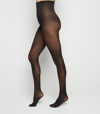 2 Pack 40 Denier Tights New Look