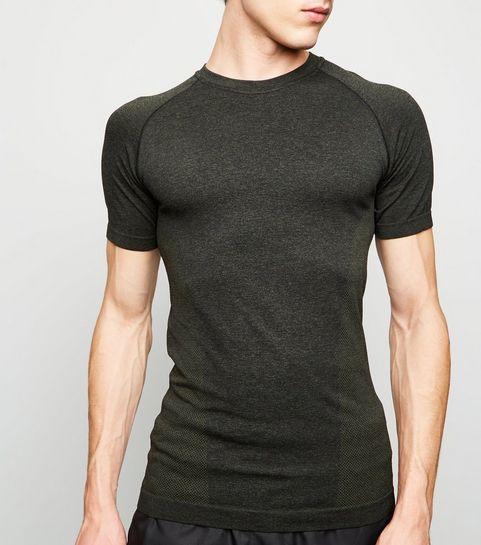 d6a4b1b7 Mens Green T-Shirts   Khaki & Olive Tees & Vests   New Look