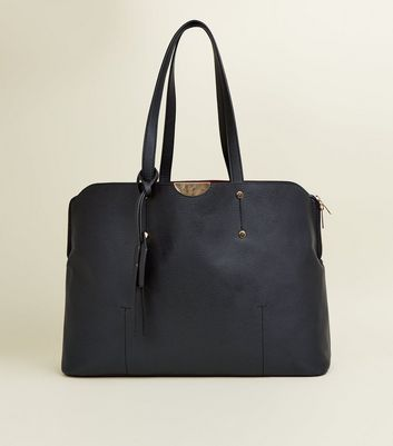 Black Two-Strap Laptop Bag