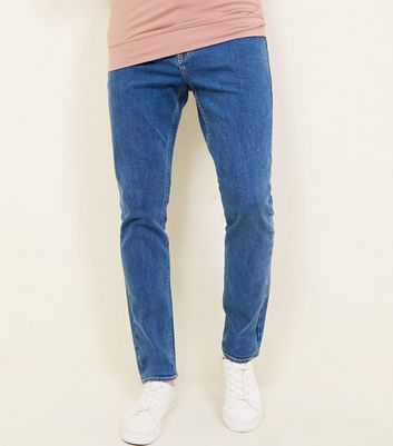 Bright Blue Slim Fit Jeans
