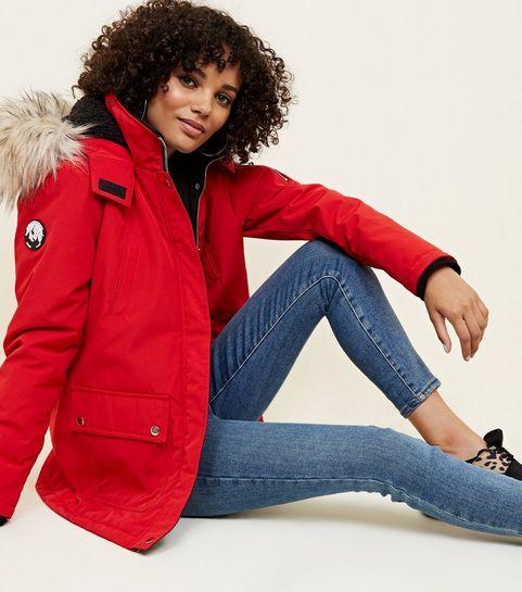 f6a648cd013e Red Ski Style Parka · Red Ski Style Parka ...
