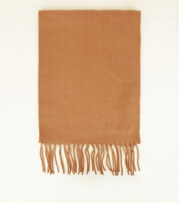 Camel Soft Woven Scarf