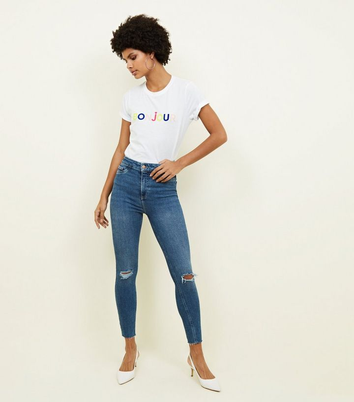 Image result for new look hallie disco high rise jeans