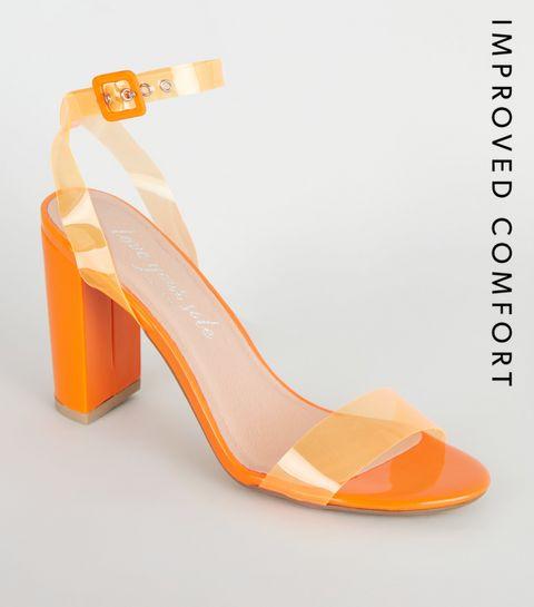 66e159ccfa9ba6 Orange Shoes | Women's Coral Footwear | New Look