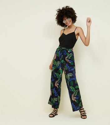 Women S Wide Leg Trousers Palazzo Trousers New Look