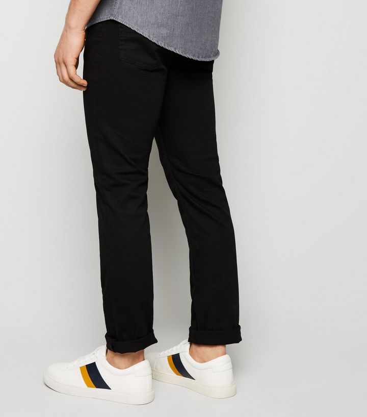 7398dc76d0 Black Stretch Slim Fit Jeans | New Look