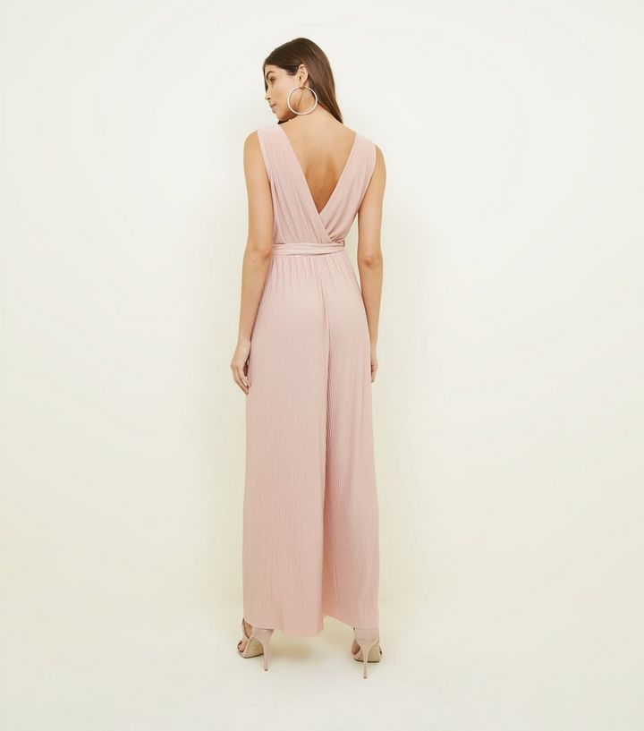 b05b06dcc7 ... Cameo Rose Pink Pleated Tie Waist Jumpsuit. ×. ×. ×. Shop the look