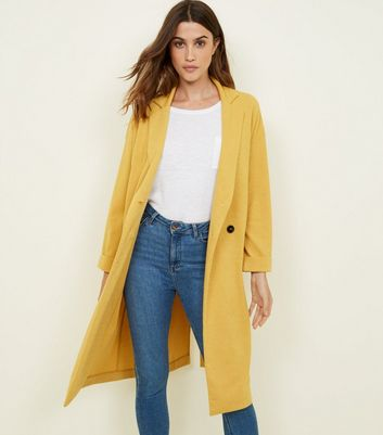 Veste jaune look