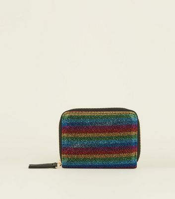 Rainbow Shimmer Card Holder