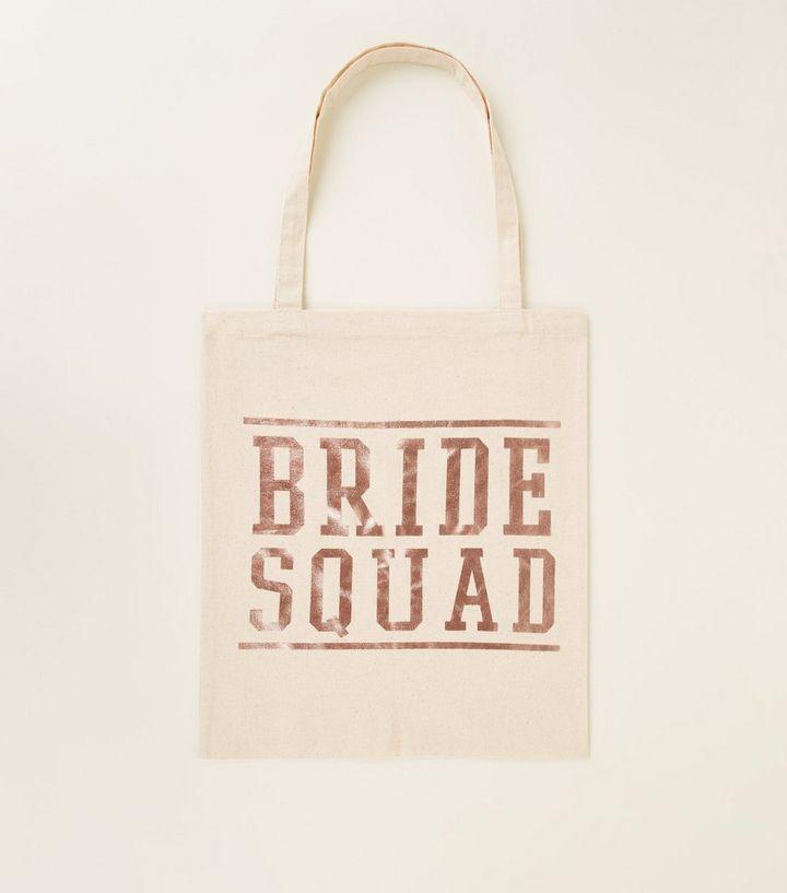 d26768376a91 Off White Bride Squad Canvas Bag