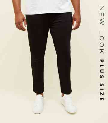 Plus Size Black Super Skinny Jeans