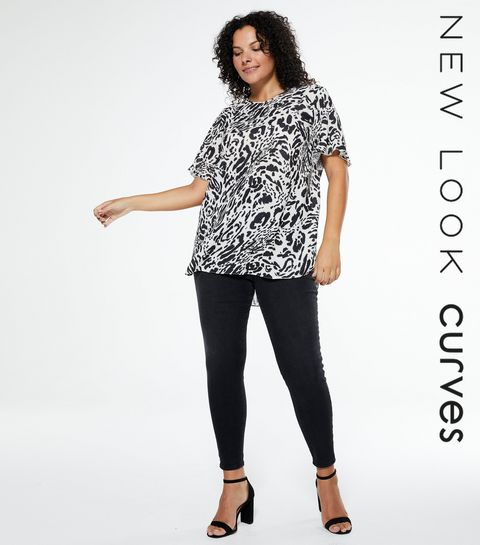 05c5c5fa10a ... Curves Black Lift And Shape Skinny Jeans ...