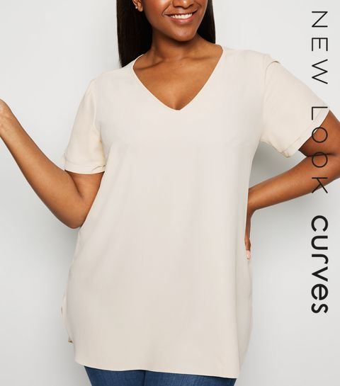 34861a793c Plus Size Tops | Plus Size Blouses & Shirts | New Look