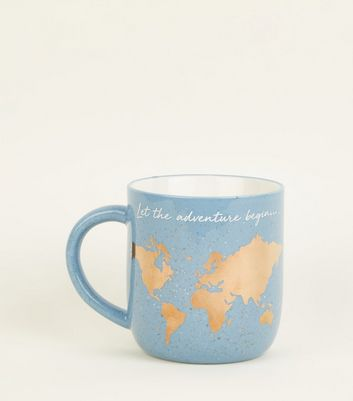 Indigo Let The Adventure Begin Mug