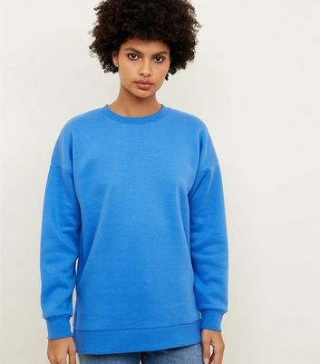 Sweat bleu vif oversize