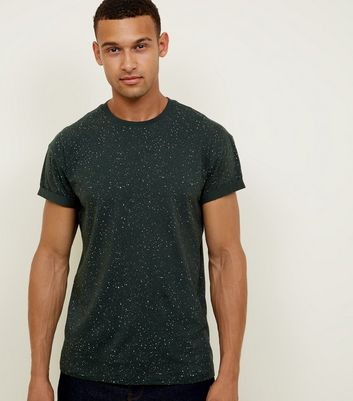 Green Spray Wash T-Shirt