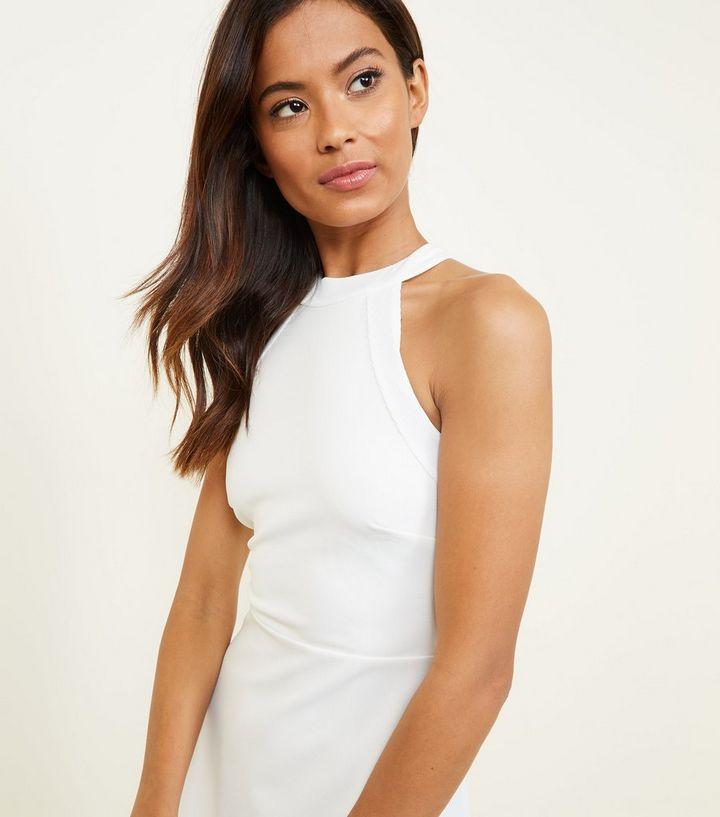 af1cd3133 ... White High Neck Skater Dress. ×. ×. ×. Shop the look