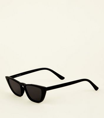 Black Cat Eye Small Sunglasses