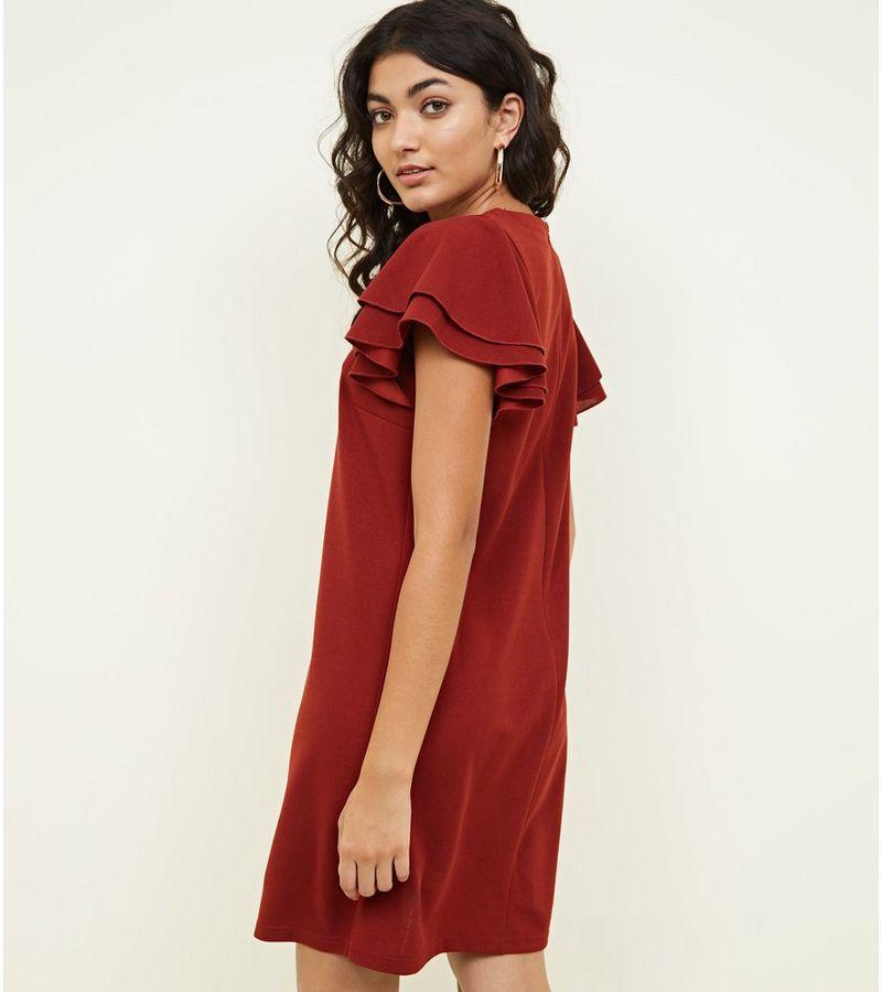 New Look - frill sleeve dress - 1