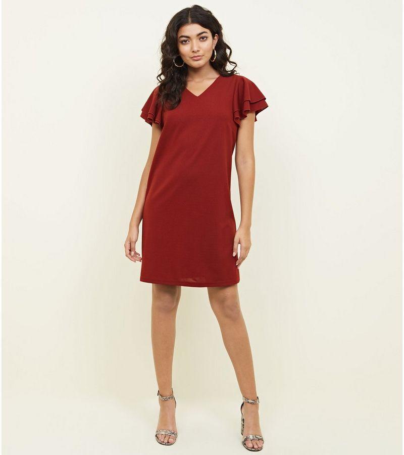 New Look - frill sleeve dress - 5