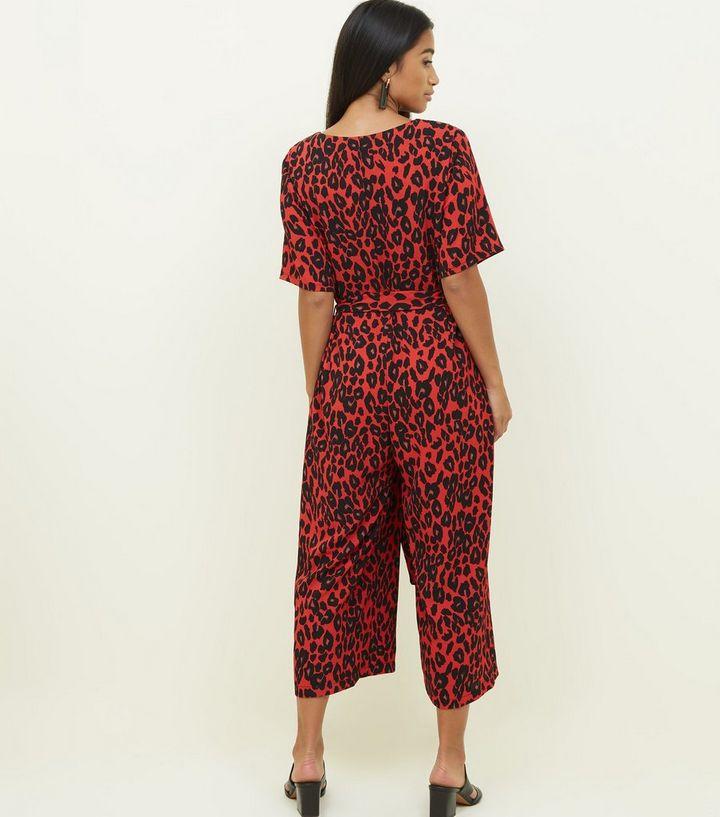 ... Leopard Print Belted Jumpsuit. ×. ×. ×. Shop the look ba157b0c8