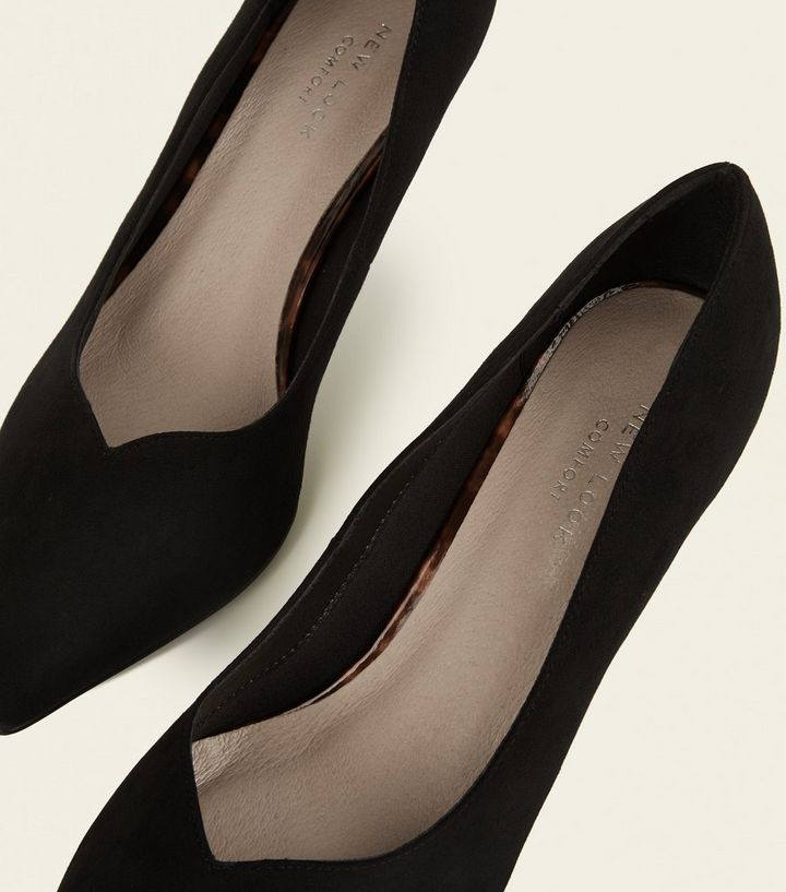 a68051ad9ce0 ... Black Comfort Flex V Front Kitten Heels. ×. ×. ×. Shop the look