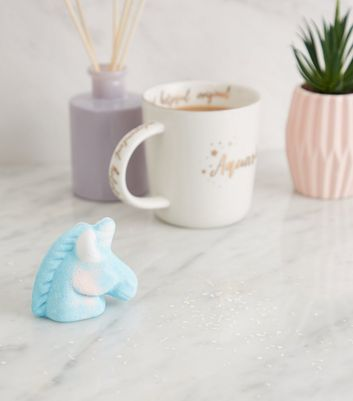 Blue Unicorn Head Bath Fizzer