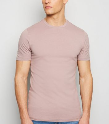 Light Purple Muscle Fit T-Shirt