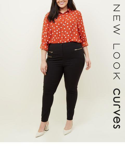e148cc0942515 Plus Size Trousers | Women's Plus Size Trousers | New Look
