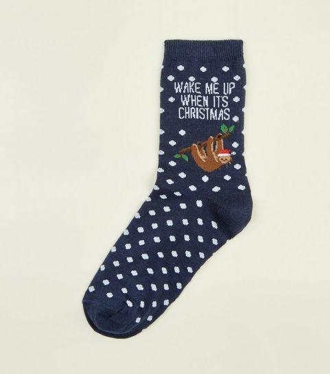 women s socks slipper pop novelty new look - Funny Christmas Socks