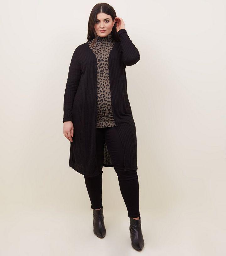 4bb154c95149 ... Curves Black Midi Cardigan. ×. ×. ×. Shop the look