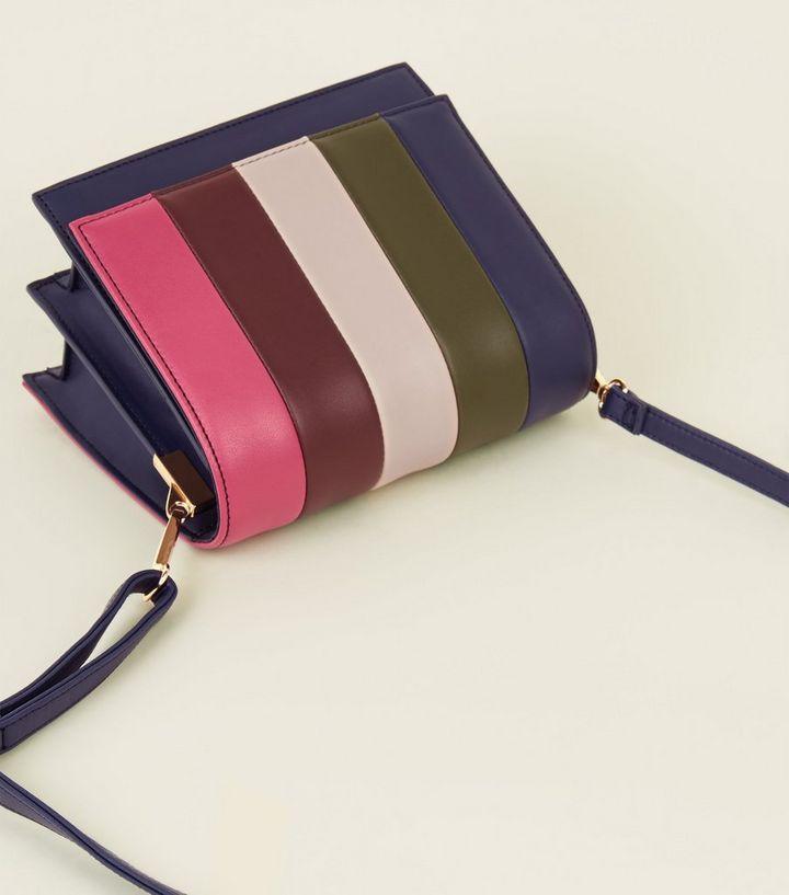8a5e485b67 ... Multicoloured Rainbow Stripe Box Bag. ×. ×. ×. Shop the look