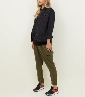 Khaki Utility Cargo Pocket Trousers