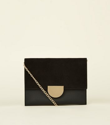 Black Mini Cross Body Bag by New Look
