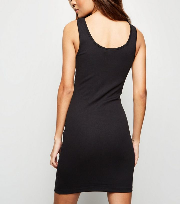 61df00e019c0d0 ... Womens Clothing · Dresses · Black Ribbed Button Front Sleeveless Mini  Dress. ×. ×. ×. Shop the look
