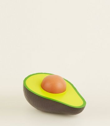 Green Avocado Sponge Stress Ball