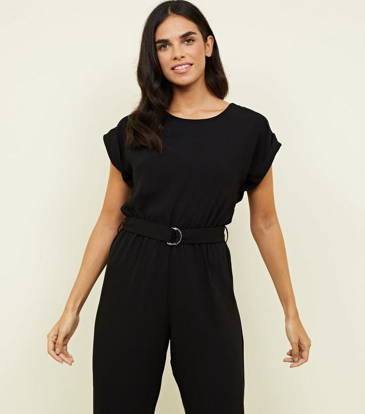 4071286a319b ... Black D-Ring Belted Jumpsuit. ×. ×. ×. Shop the look