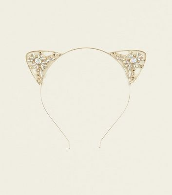 Gold Jewel Cat Ears