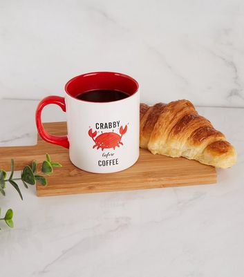 Red Crab Slogan Mug