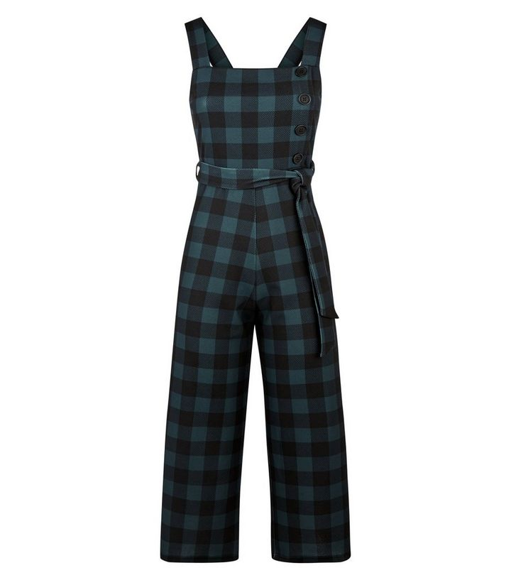35872e4025b7 ... Green Check Button Side Cropped Jumpsuit. ×. ×. ×. Shop the look